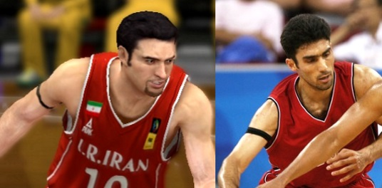 FIBA Cyberfaces 2K14/13 - Hamed Afagh (Iran SG)