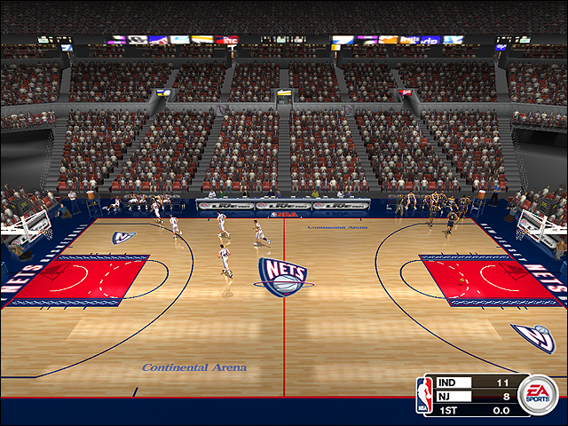 Vintage New Jersey Nets Court (1997-2000)