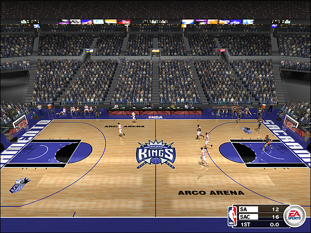Vintage Sacramento Kings Court (2003-2007)