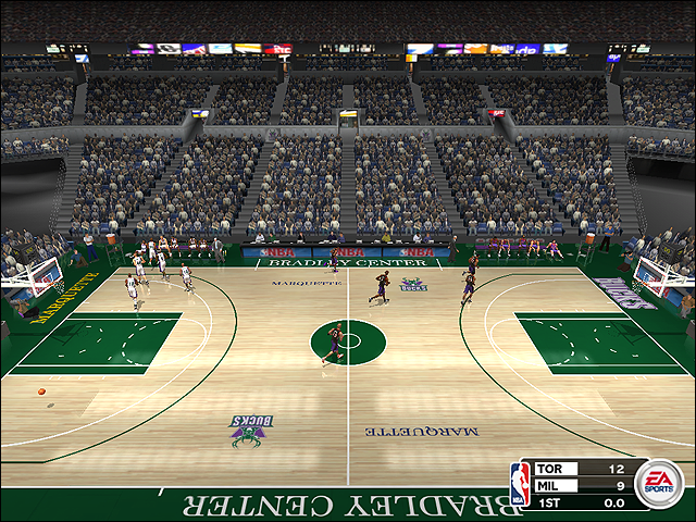 Vintage Milwaukee Bucks Court (1993-1998)