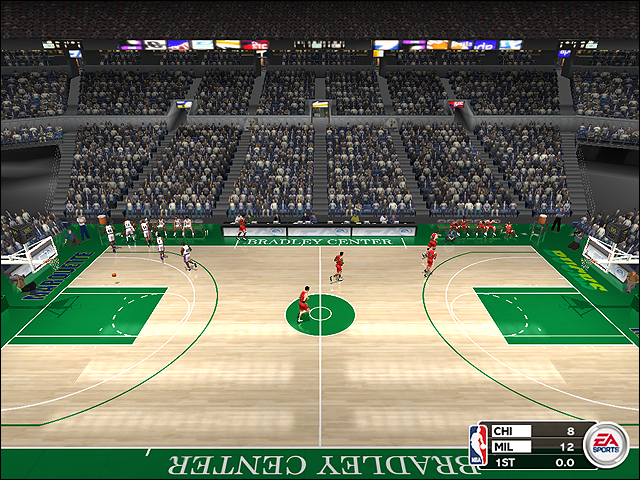 Vintage Milwaukee Bucks Court (1989-1993)