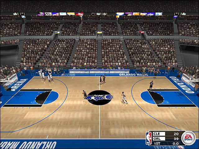 Vintage Orlando Magic Court (1995-1999)