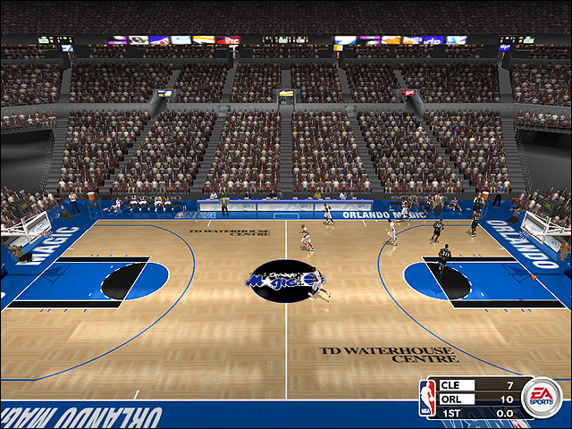 Vintage Orlando Magic Court (1999-2000)