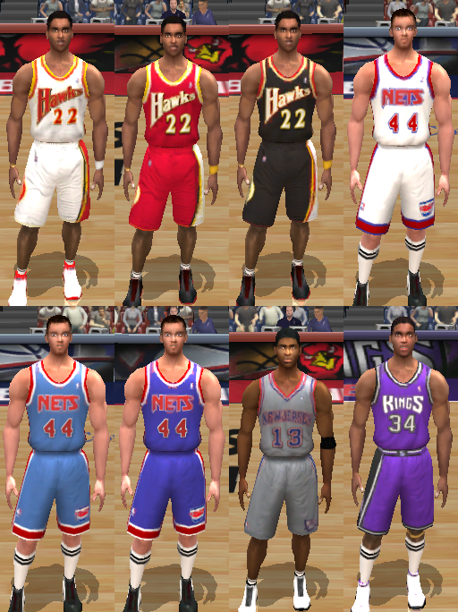 Retro Jersey Pack 2