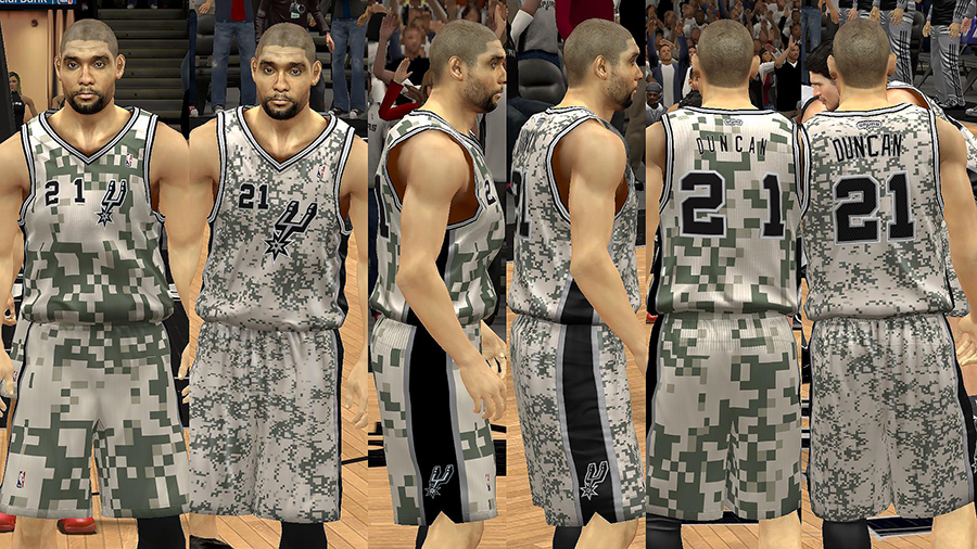 San Antonio Spurs Jersey Pack