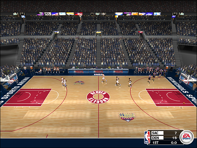 Vintage Denver Nuggets Court (1998-1999)
