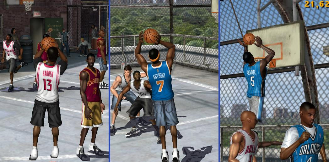 NBA Street Vol. 2 HDR Update ('13-'14) V2
