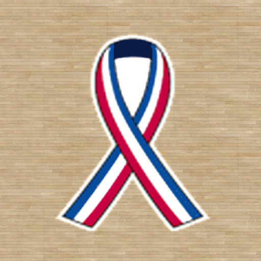 2001-2002 NBA September 11 Court Ribbons