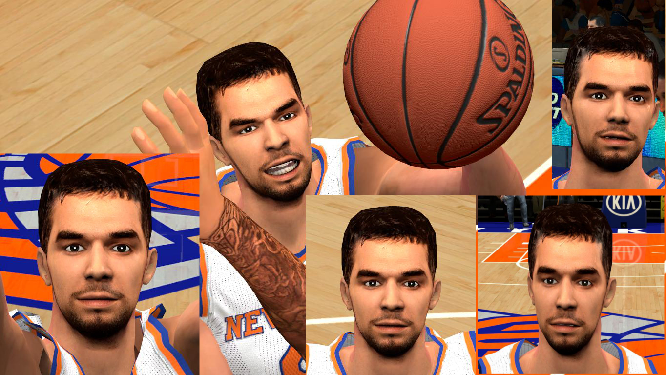 Jose Calderon Face