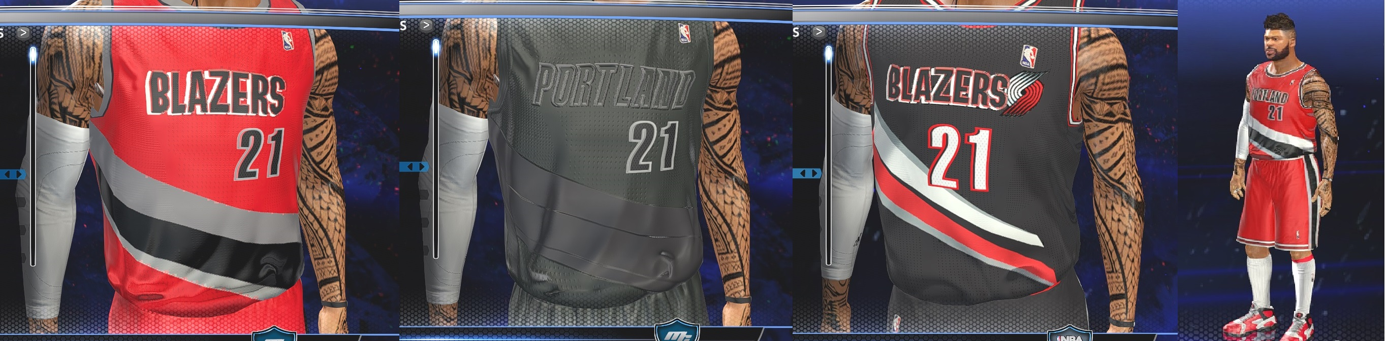 new style 956c2 6a875 NLSC Forum • Downloads - Portland Trail Blazers Fictional ...