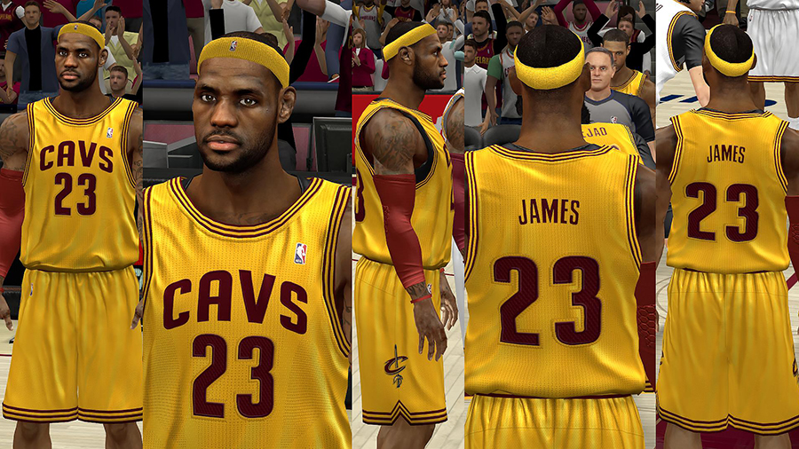 Cleveland Cavaliers HD Jersey Pack
