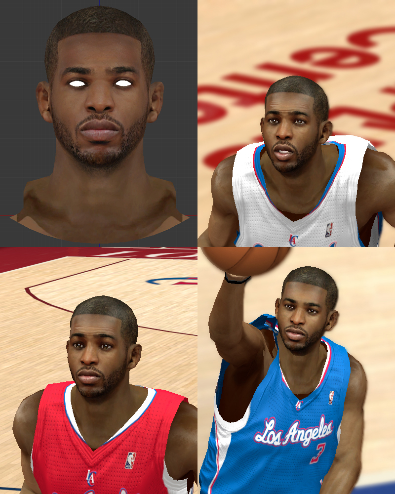 Chris Paul Face