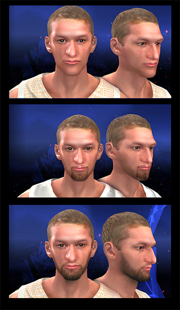 MyPLAYER Face (Facial Progression Compatible)