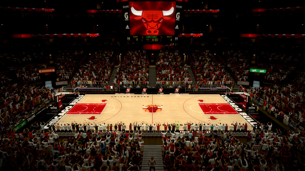 2006-2010 United Center in Chicago