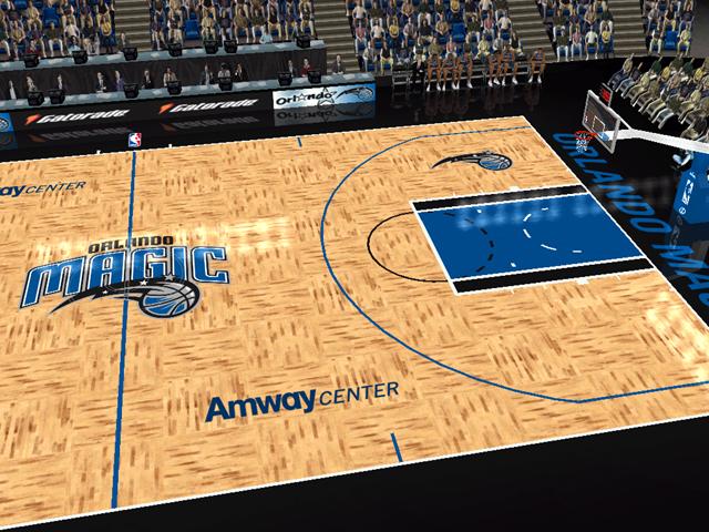new york 770de 8a61b ... Orlando Magic Court Patch ...