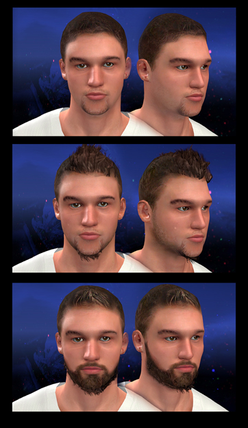 MyPLAYER Face 2 (Facial Progression Compatible)