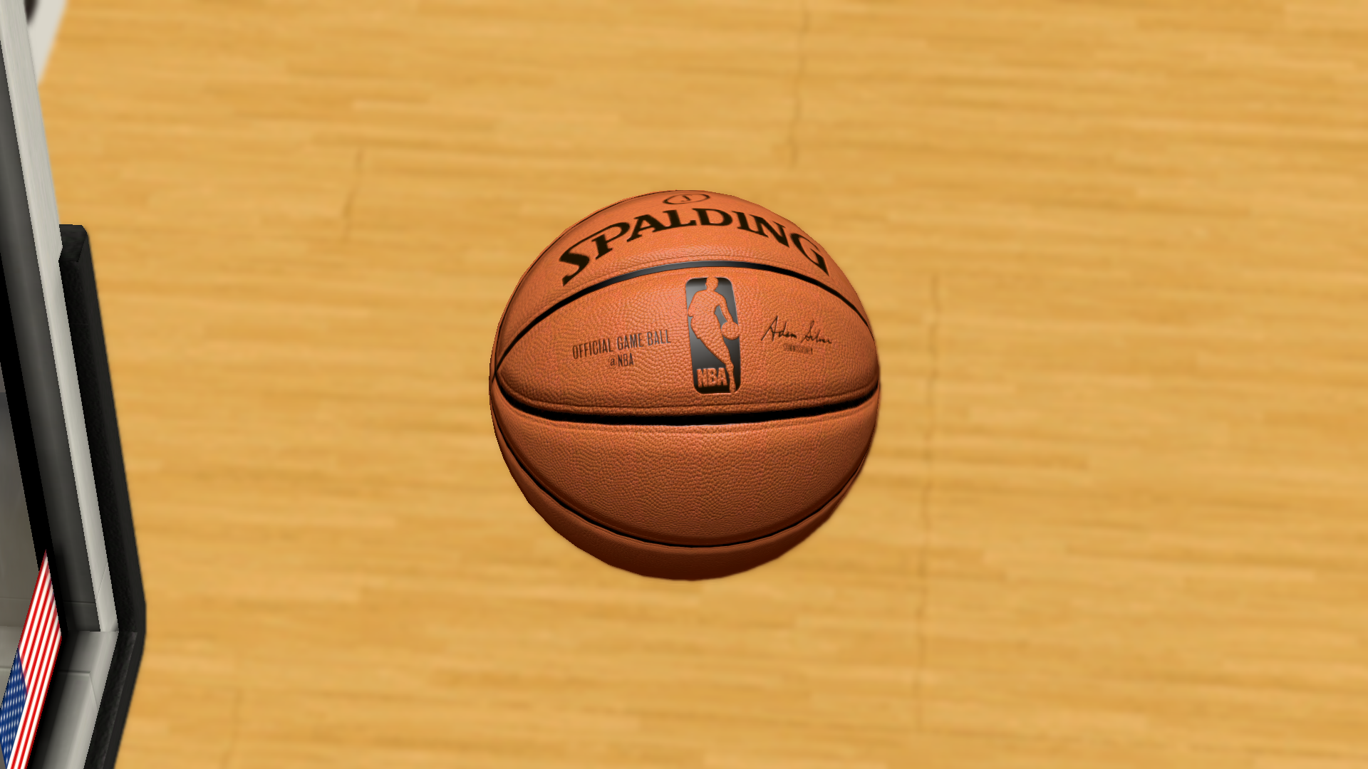 New NBA Ball (4x Resolution)