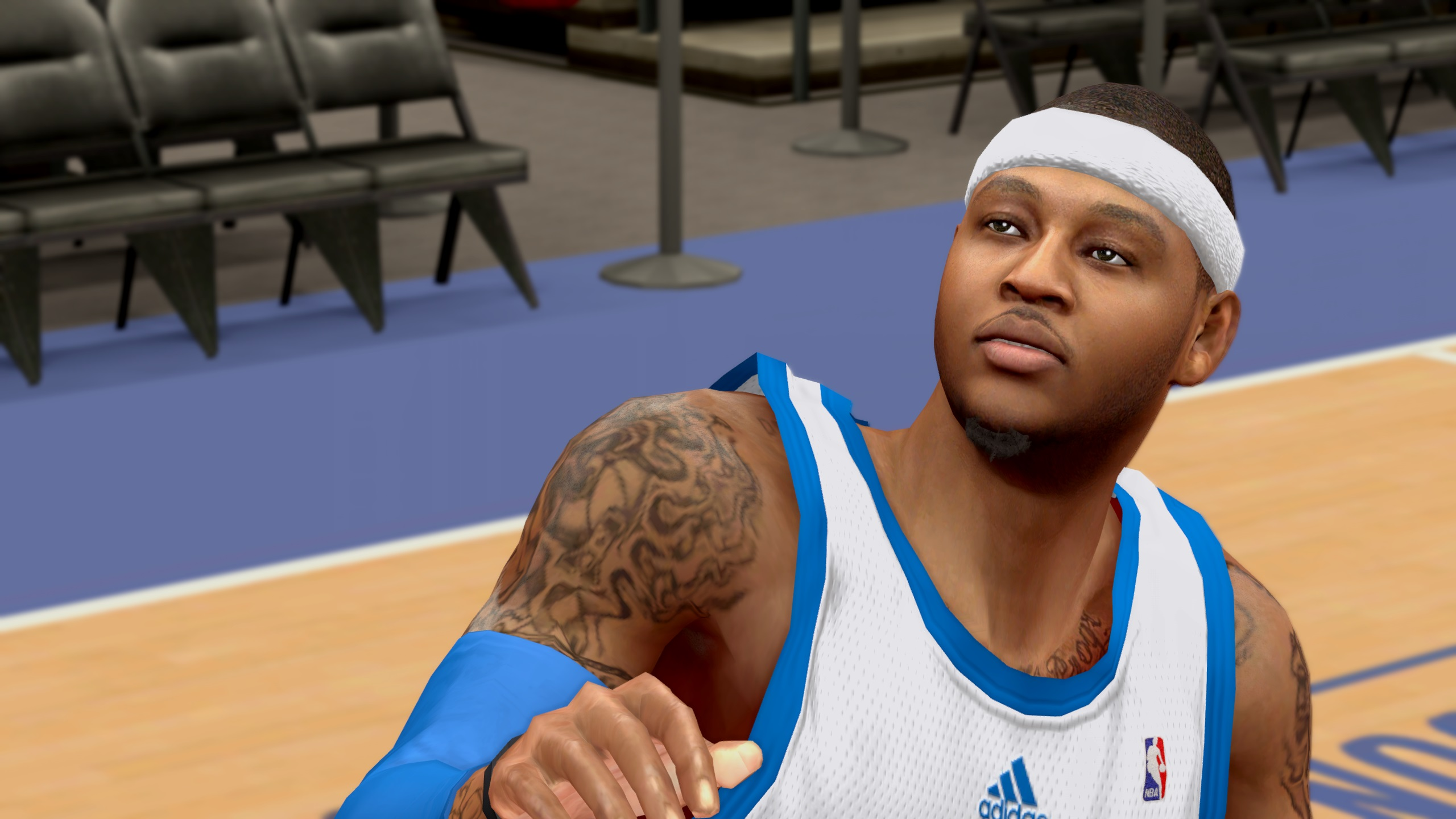 Carmelo Anthony Face