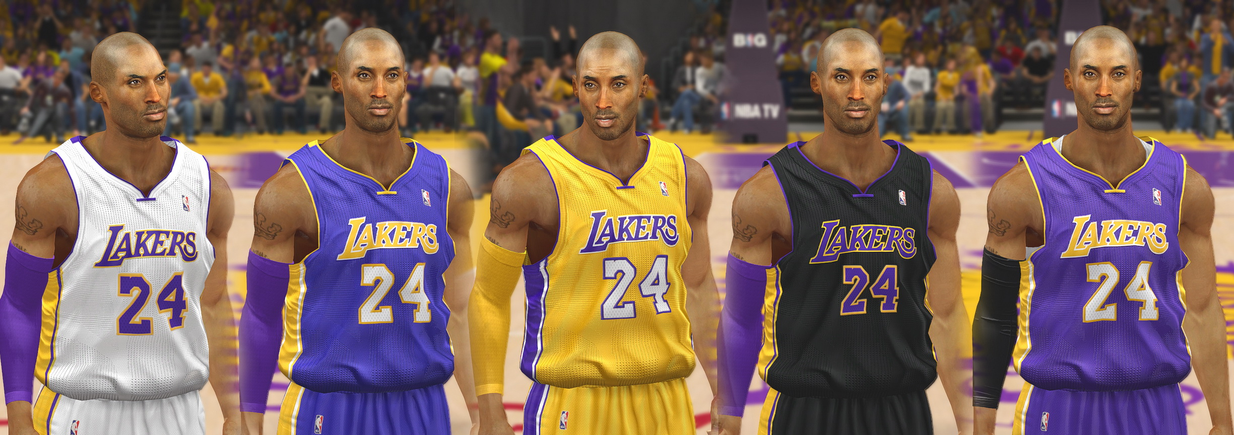 Los Angeles Lakers Jersey Update