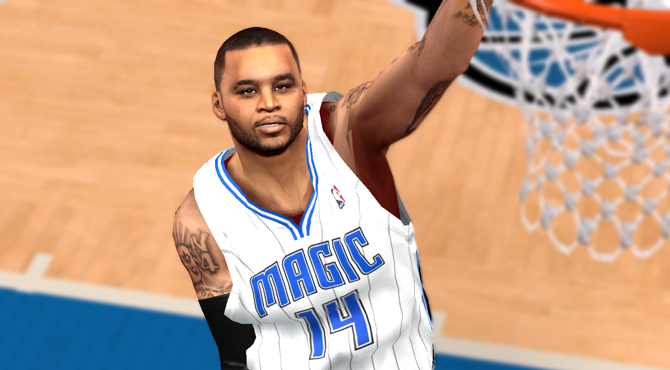Jameer Nelson Realistic Face