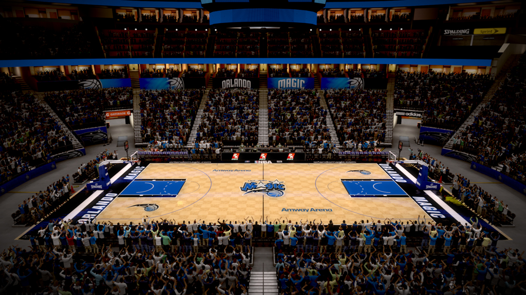 2007-2010 Amway Arena in Orlando