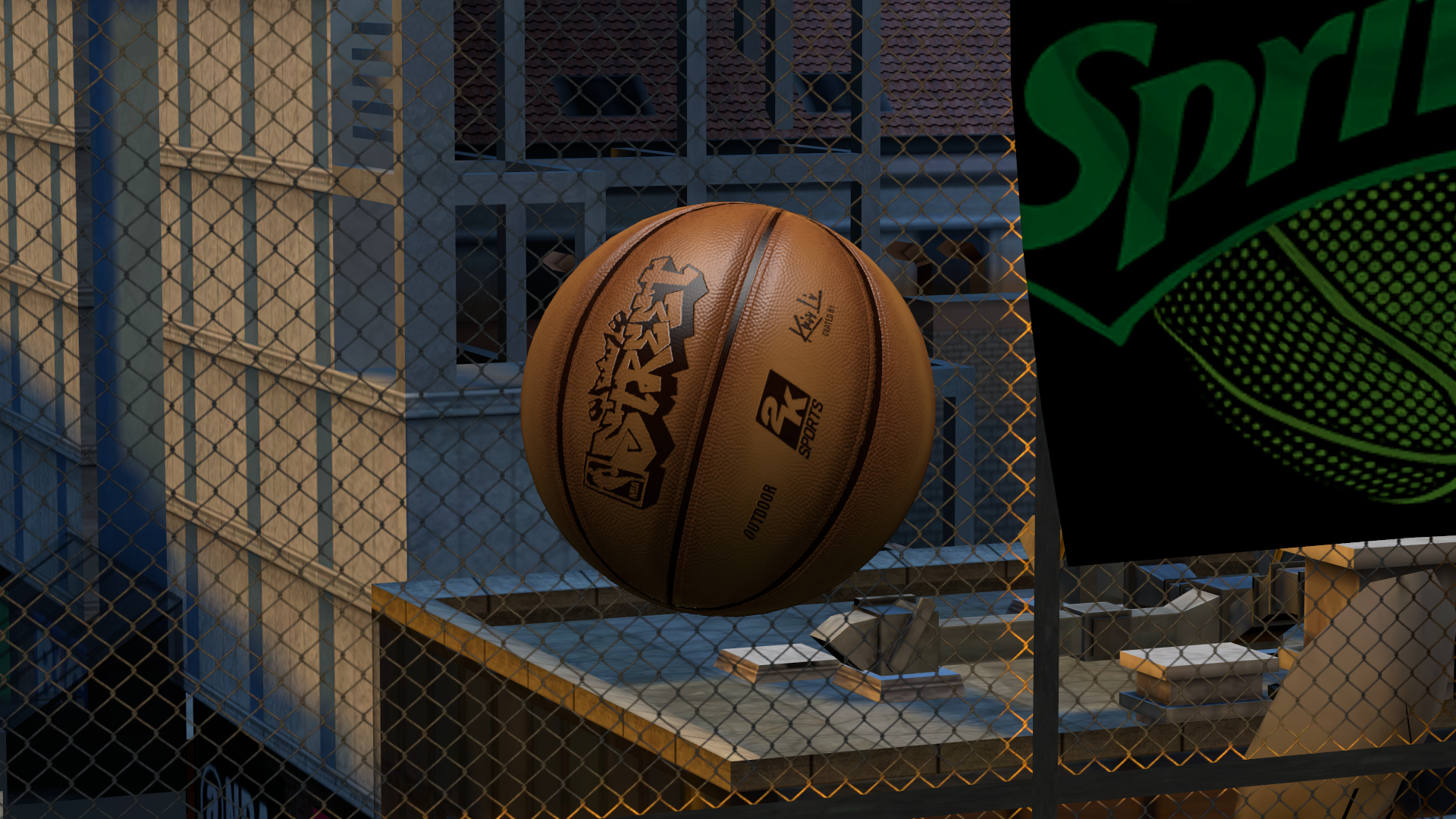 Custom HD Outdoor Basketball