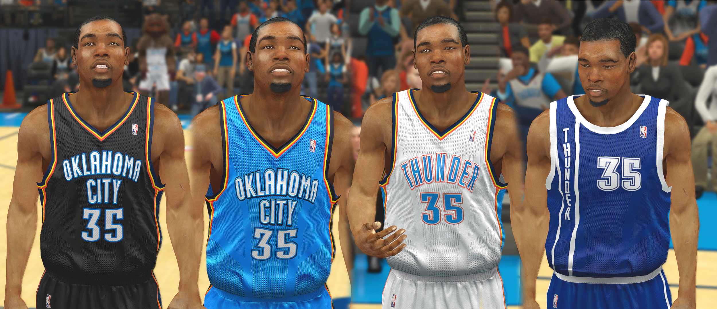 Oklahoma City Thunder Jersey Update