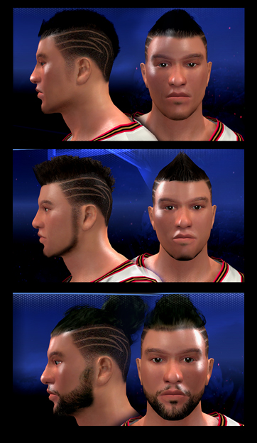 MyPLAYER Face 3 (Facial Progression Compatible)
