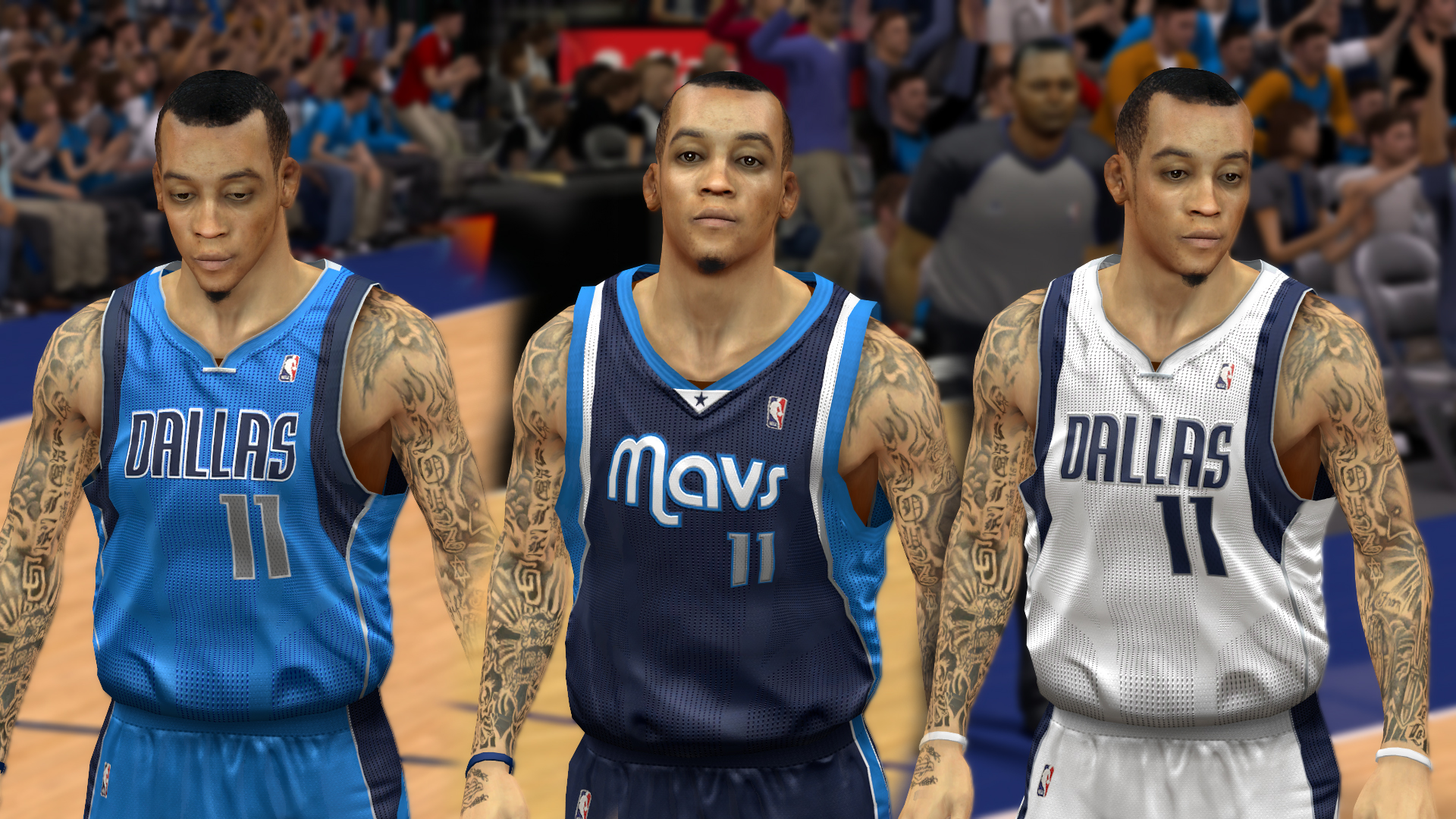 Dallas Mavericks Jersey Update