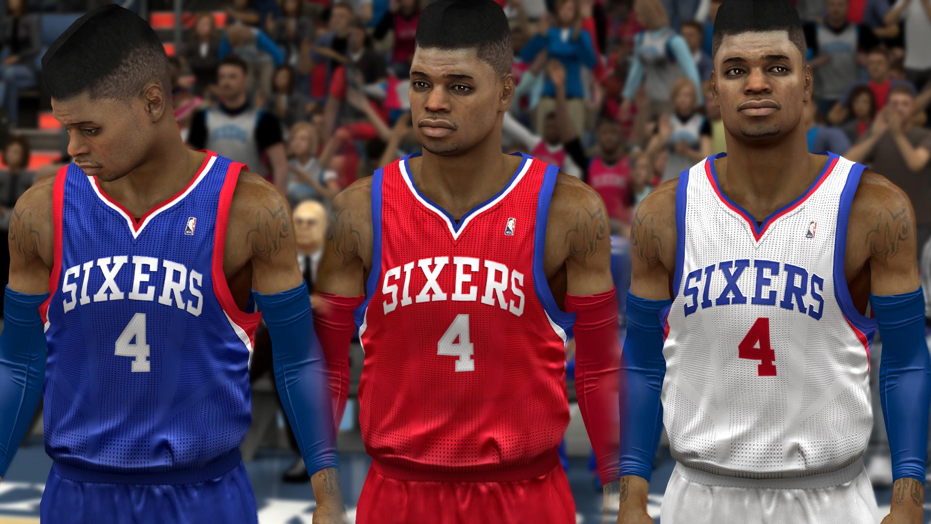 NLSC Forum • Downloads - Philadelphia 76ers Jersey Update 8575343bb