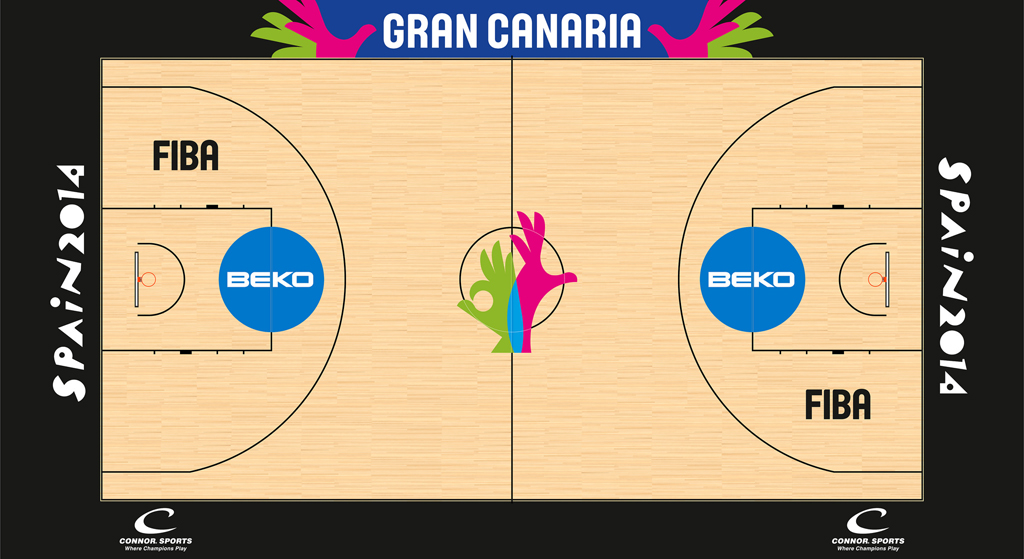 2014 Granda Arena in Las Palmas, Spain (FIBA World Championship)