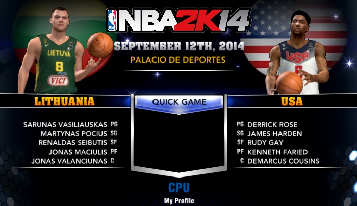 FIBA 2K14 Current MC Roster and Association Roster Without Free Agents
