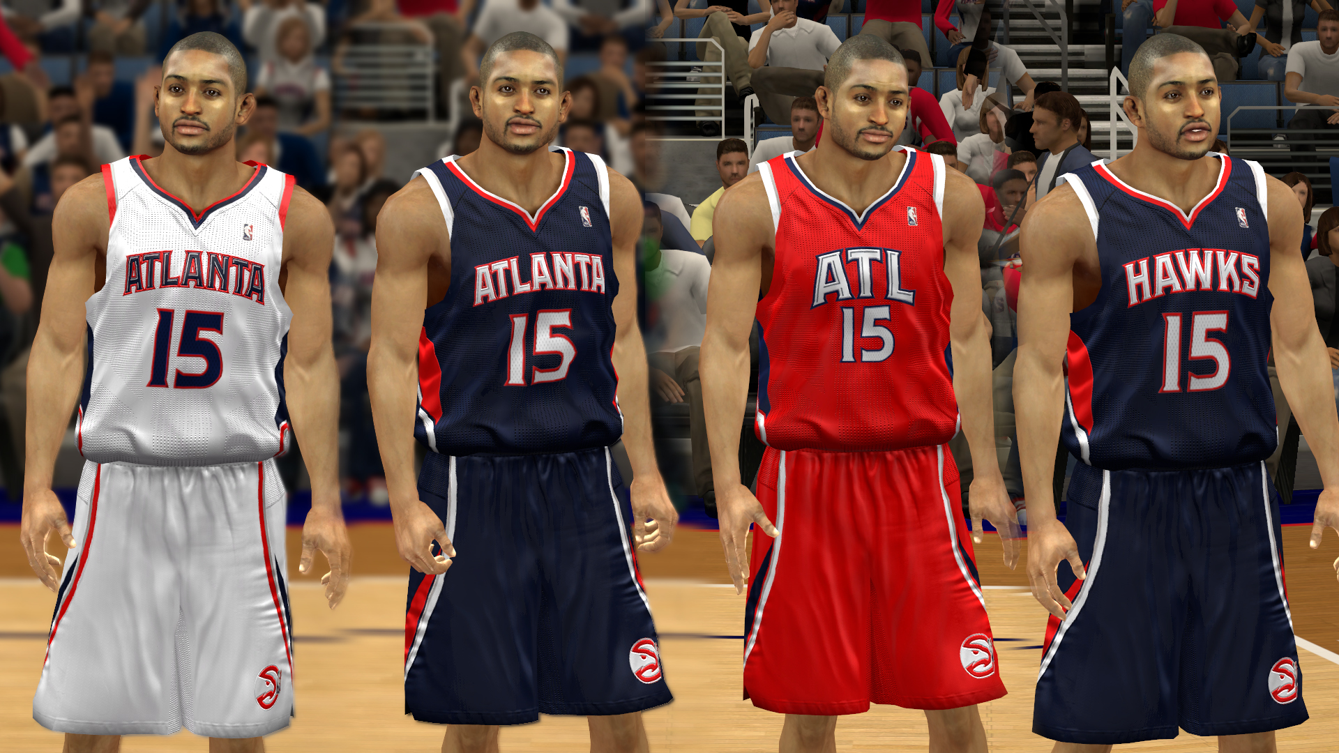 nba 2k14 atlanta hawks jersey patch