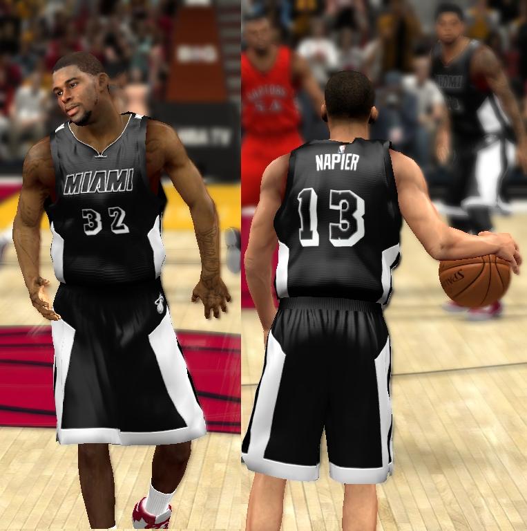 4940a5d97 NLSC Forum • Downloads - 2015 Miami Heat Black Tie Uniform