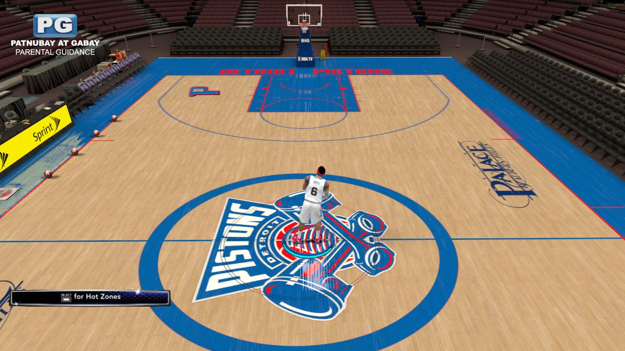new product 7b62b 60c5d Fictional Detroit Pistons Court