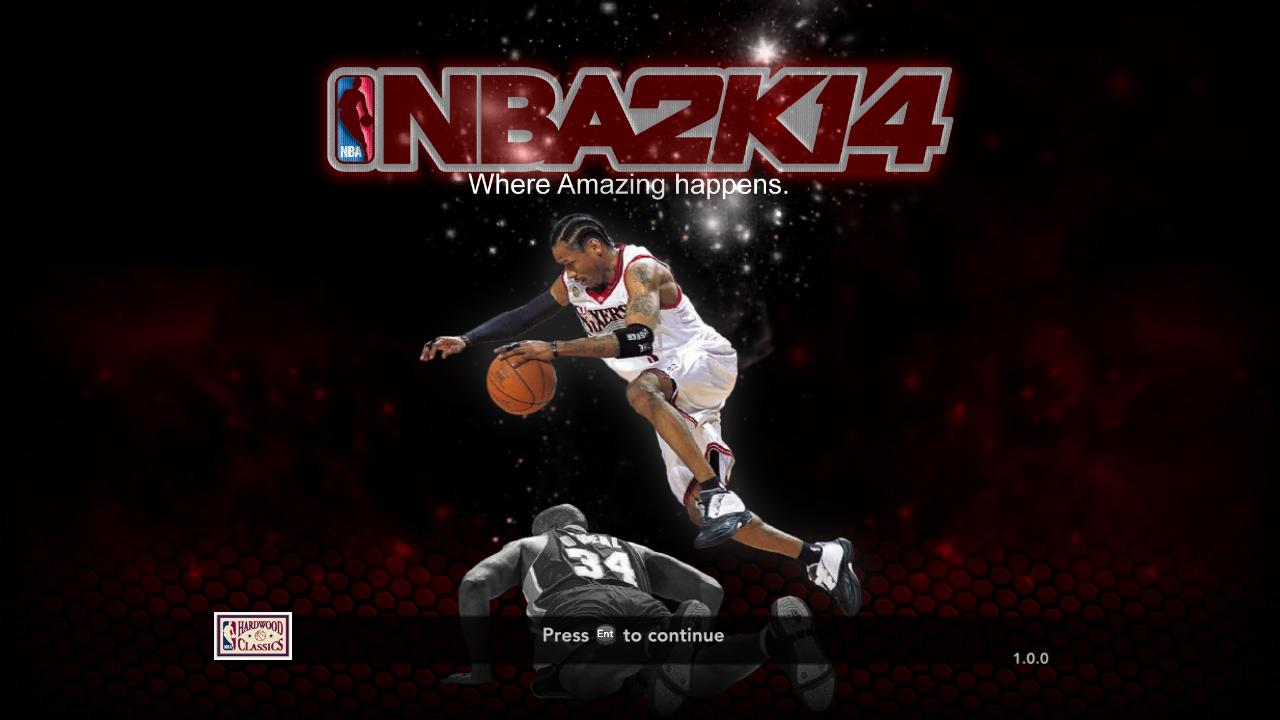 Allen Iverson Title Screen