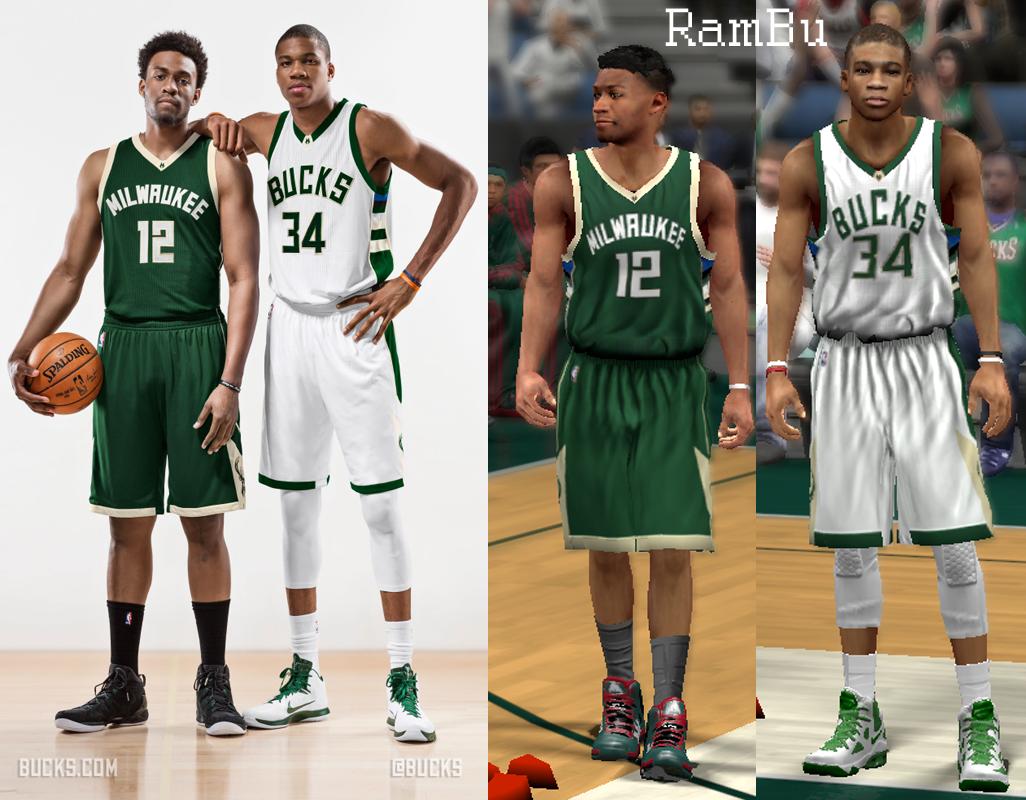 NLSC Forum • Downloads - 2016 Milwaukee Bucks Uniform