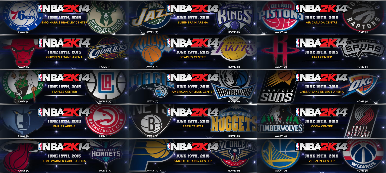 NLSC Forum • Downloads - 2015-2016 NBA Partial Primary Logos