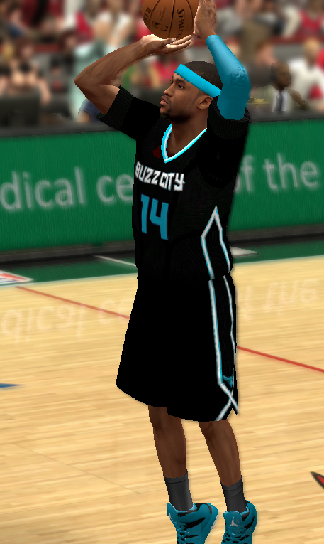 "2015-2016 Charlotte Hornets ""PRIDE"" Jersey"