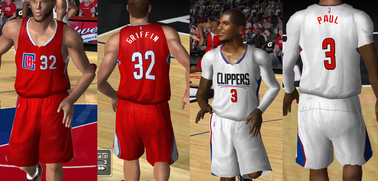 2015/2016 Los Angeles Clippers Jersey Patch