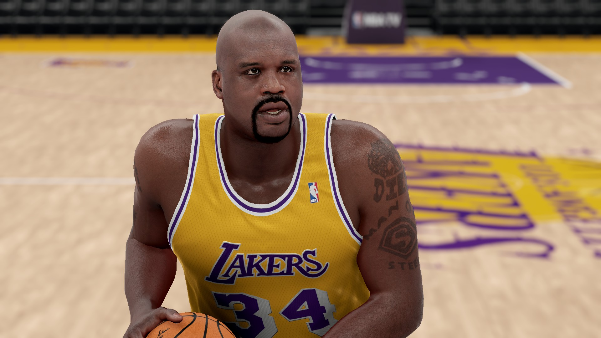 Nlsc forum downloads shaquille o 39 neal face pack for Where does shaq live