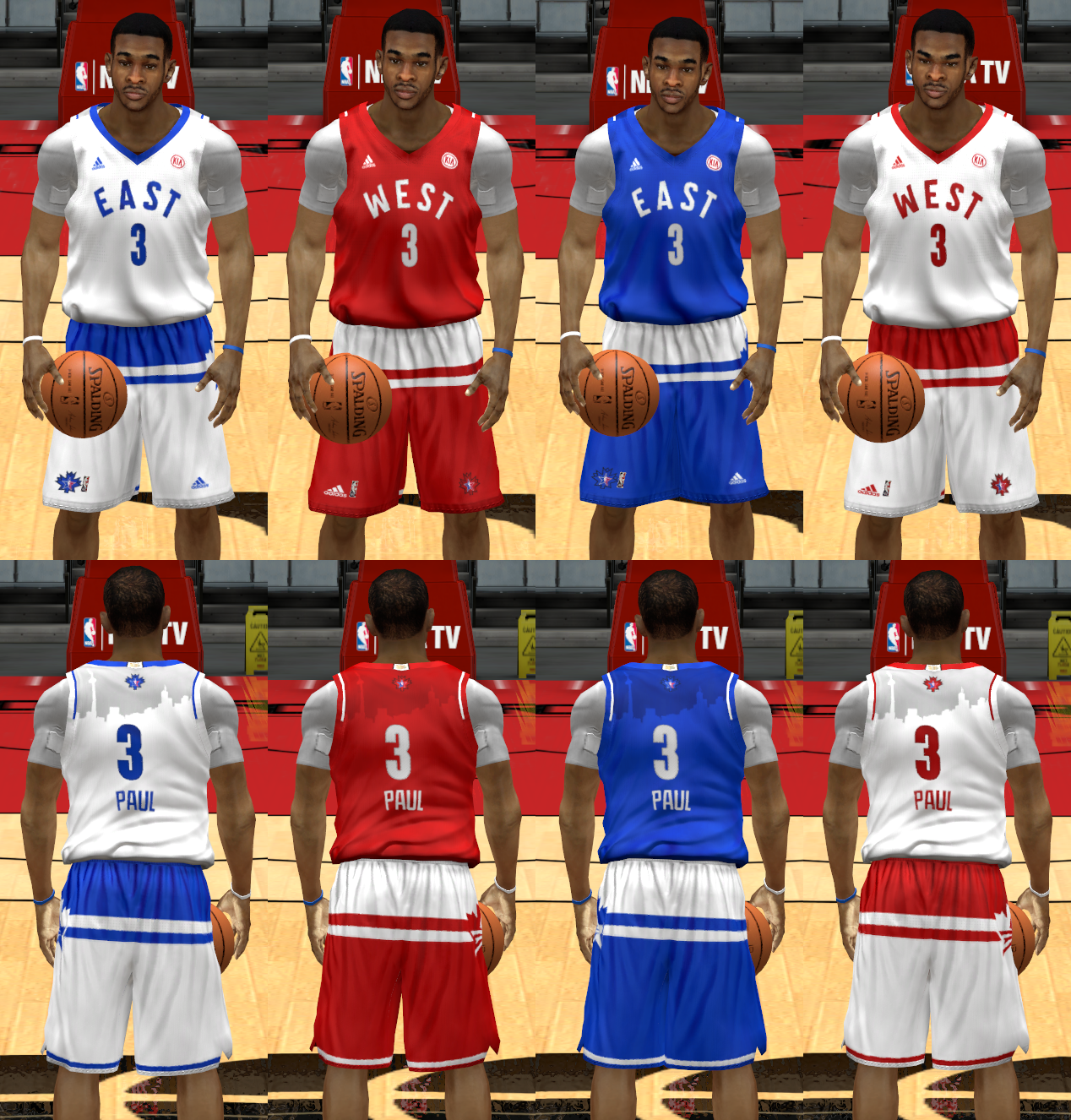 2016 All-Star Game Uniforms