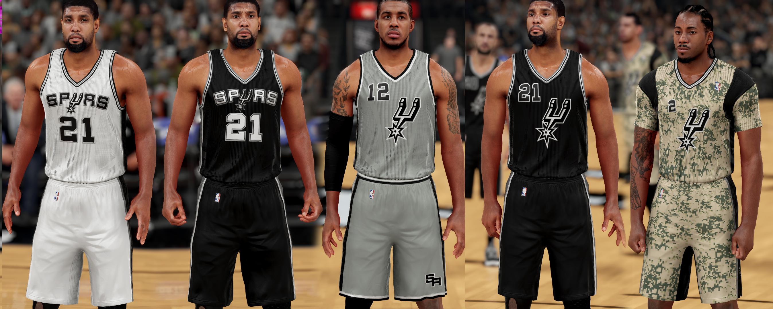 4e4f641ca419 NLSC Forum • Downloads - San Antonio Spurs Jersey