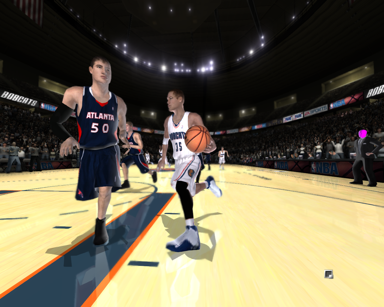NBA Live 2005 Fictional Rosters