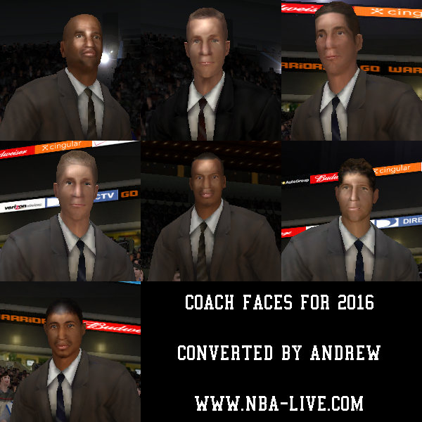 Converted Coach Face Pack 2016