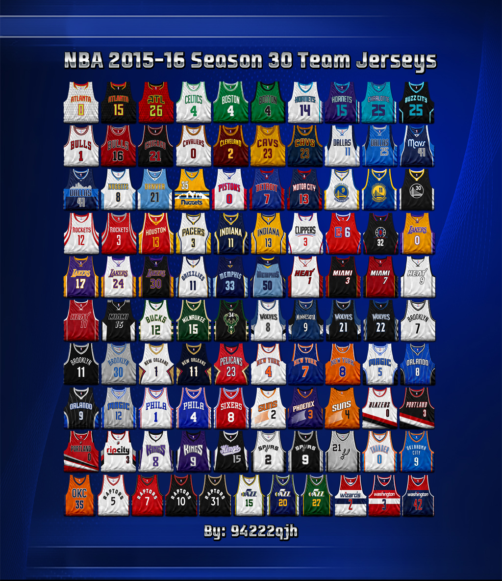 alle nba teams