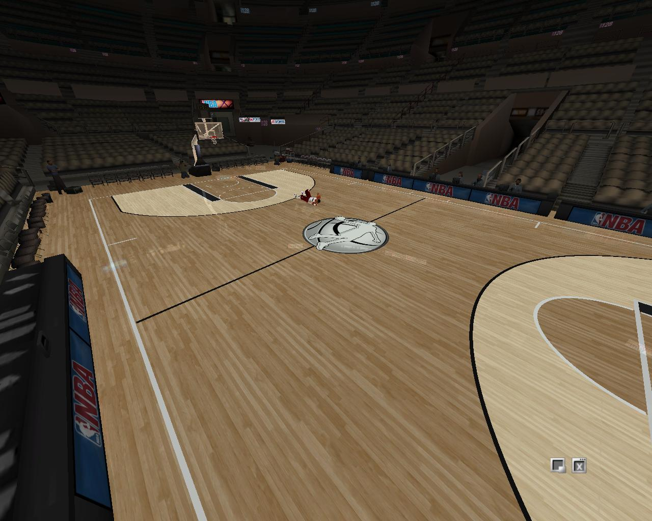 Empty Practice Arena P...