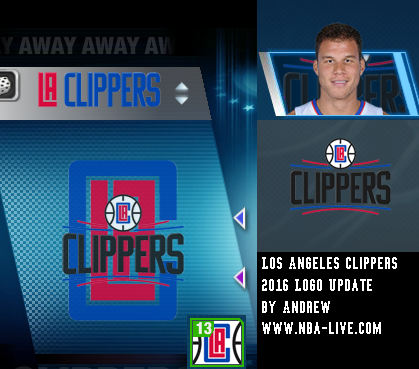 Los Angeles Clippers 2015/2016 Logo Patch 06