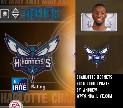 Charlotte Hornets 2015/2016 Logo Patch 2005