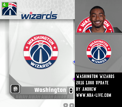 Washington Wizards 2015/2016 Logo Patch 07